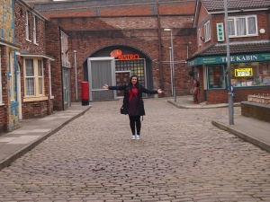 Emma Hynes on Coronation Street