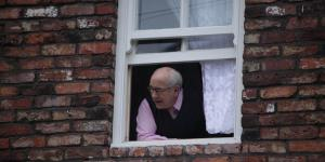From ITV  STRICT EMBARGO -TV Listings Magazines Tuesday 24 July 2012, Newspapers and other media including ANY websites Saturday 28 July 2012 Coronation Street - 7925 Friday 3 August 2012 at 8.30pm Emily Bishop [EILEEN DERBYSHIRE] is cross with Norris Cole [MALCOLM HEBDEN] for padlocking his bedroom and offending Tracy McDonald [SIMON GREGSON]. But while Norris is taking a nap, Tracy padlocks him into his bedroom then turns up the TV to drown out Norris' cries for help. Shouting from his bedroom window will Norris escape and how will Emily react to Tracy's games? Picture contact: david.crook@itv.com on 0161 952 6214  Photographer - Joseph Scanlon This photograph is (C) ITV Plc and can only be reproduced for editorial purposes directly in connection with the programme or event mentioned above, or ITV plc. Once made available by ITV plc Picture Desk, this photograph can be reproduced once only up until the transmission [TX] date and no reproduction fee will be charged. Any subsequent usage may incur a fee. This photograph must not be manipulated [excluding basic cropping] in a manner which alters the visual appearance of the person photographed deemed detrimental or inappropriate by ITV plc Picture Desk. This photograph must not be syndicated to any other company, publication or website, or permanently archived, without the express written permission of ITV Plc Picture Desk. Full Terms and conditions are available on the website www.itvpictures.com