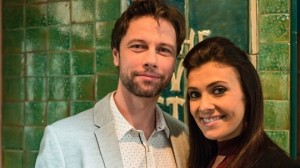Leon Ockenden and Kym Marsh