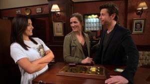 Will, Saskia and Michelle