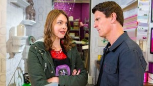 Tracy Barlow and Robert Preston
