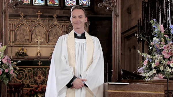 Daniel Brocklebank as Vicar Billy Mayhew