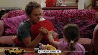 David tells Max and Lily Kylie is dead Coronation Street 15 July 2016