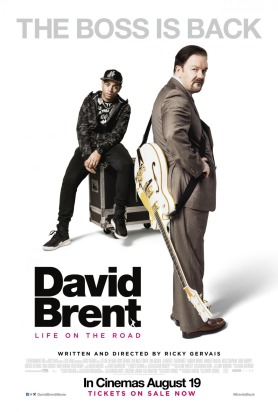 David Brent and Dom Johnson Life on the Road poster