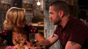 Eva Price and Aidan Connor Coronation Street