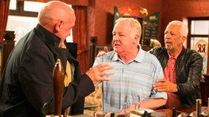 Michael attacks Phelan in the Rovers Return 12 August 2016