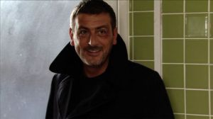 FROM ITV STRICT EMBARGO - NO USE BEFORE TUESDAY 11 OCTOBER 2016 Coronation Street - Ep 9014 Monday 17 October 2016 - 1st Ep Spotting the nasty gash on Peter Barlow's [CHRIS GASCOYNE] forehead, Ken Barlow [WILLIAM ROACHE] wonders what he's been up to but doesn't get a straight answer from his son. Peter admits he has nowhere to stay. Ken relents and, explaining his trip, tells Peter he's welcome to stay while he is gone - Peter's grateful. Picture contact: david.crook@itv.com on 0161 952 6214 This photograph is (C) ITV Plc and can only be reproduced for editorial purposes directly in connection with the programme or event mentioned above, or ITV plc. Once made available by ITV plc Picture Desk, this photograph can be reproduced once only up until the transmission [TX] date and no reproduction fee will be charged. Any subsequent usage may incur a fee. This photograph must not be manipulated [excluding basic cropping] in a manner which alters the visual appearance of the person photographed deemed detrimental or inappropriate by ITV plc Picture Desk. This photograph must not be syndicated to any other company, publication or website, or permanently archived, without the express written permission of ITV Plc Picture Desk. Full Terms and conditions are available on the website www.itvpictures.com