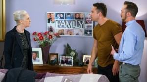 Geraldine visits Billy and Todd - Coronation Street