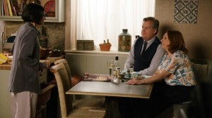 Yasmeen speaks with Brian and Cathy - Coronation Street
