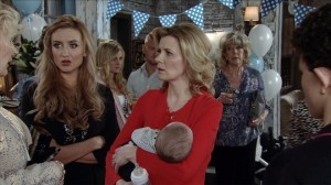 Oliver's naming ceremony - Coronation Street